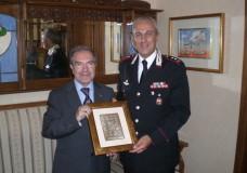Il Tenente Colonnello Macrì in visita dal Presidente Antoci