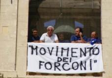 Mariano Ferro e altri quattordici Forconi hanno occupato la Cappella Palatina