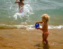 bimbi al mare