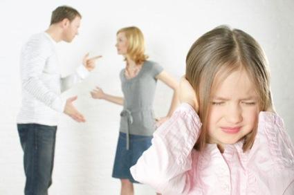 figli contesi tra padre e madre