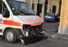 Modica – Scontro Ambulanza-Vigili del Fuoco