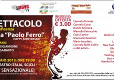 Scicli – Un evento sensazionale al Cine-Teatro Italia : Grandi artisti insieme per beneficenza