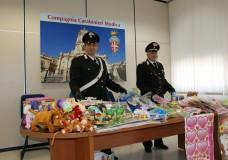 Scicli – Sequestrati giocattoli senza il marchio CE, pericolosi per la salute dei bambini