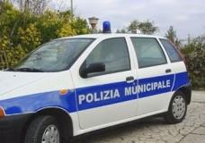 polizia municipale, vettura