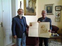 Pozzallo – Ammatuna si congratula con l'artista Barrera