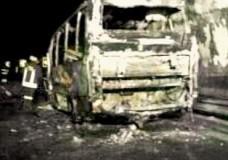Pullman in fiamme a Tremonzelli, sfiorata la tragedia. Solo tanta paura per alcuni studenti modicani