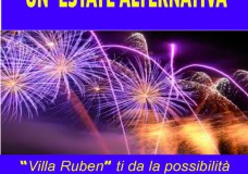 Villa Ruben: Il 6 Luglio serata dedicata all'alta moda, poi ancora tante novità