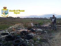 Vittoria – Bomba ecologica all'ingresso della città, sequestrati 10 mila kg di amianto