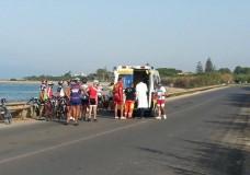 incidente ciclista 1