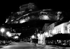 scicli piazza italia di notte
