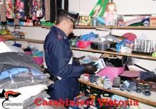 Vittoria – Carabinieri denunciano due cinesi e sequestrano oltre 10mila euro di merce contraffatta
