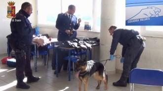 polizia droga nella scuola