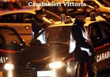 carabinieri vittoria notte