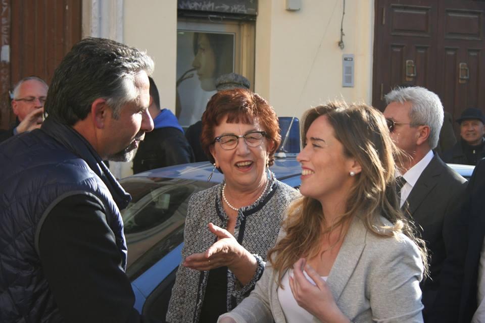 Ministro Boschi a Catania:
