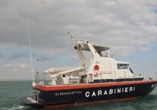 Pozzallo – Soccorso in mare dalla Motovedetta CC. 813