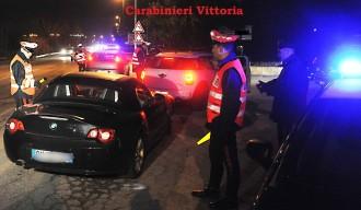 Riccione 08/03/2012 - Servizio congiunto Carabinieri Radiomobile Rimini e Riccione con utilizzo di etilometri e autovelox. © Manuel Migliorini / Adriapress.