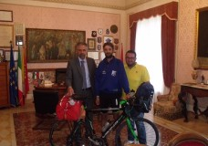 In bici da Londra a Modica