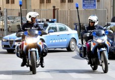 polizia questura moto