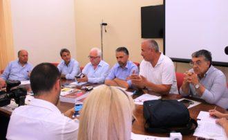 Conf stampa bilancio distretto Modica a Expo 2015