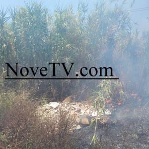 Incendio a Ferragosto a Marina di Ragusa. Danni limitati grazie al rapido intervento dei Vigili del fuoco del distaccamento stagionale