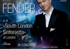 Peter Fender in concerto a Modica, l'1 Agosto nell'Atrio Comunale