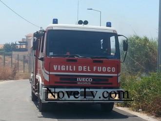 vigili del fuoco donnalucata