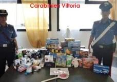 """Vittoria – I controlli dei Carabinieri durante il fine settimana: 12 persone denunciate, sequestrati giocattoli non conformi alle norme """"CE"""""""