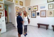Scicli – Anche l'on Stefania Prestigiacomo alla Mostra di Guccione