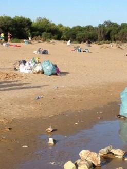 sampieri spazzatura spiaggia 1
