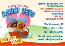 Amici Veri vi propone la Fidelity Card, Vieni a Ritilarla