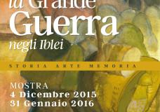 Modica – La Grande Guerra negli Iblei, a Palazzo Grimaldi una mostra dal 4 dicembre al 31 gennaio