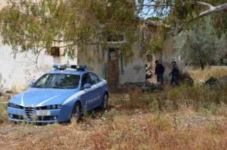 polizia campagna esplosione