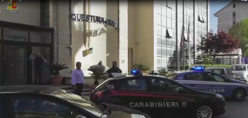 operazione congiunta di polizia e carabinieri eseguiti