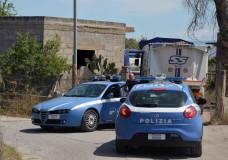 Vittoria – La Polizia sequestra discarica abusiva