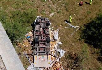 incidente camion vittoria