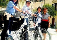 Scicli – Polizia municipale in bici