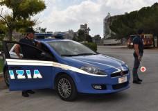 La polizia di stato in campo contro i furti di auto