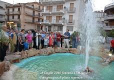 Scicli – Inaugurata la fontana di viale 1° Maggio