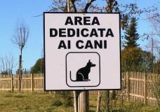 area dedicata ai cani