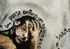 Ispica – Un  dipinto per raccogliere fondi per la Croce Rossa Italiana impegnata a favore delle popolazioni colpite dal sisma