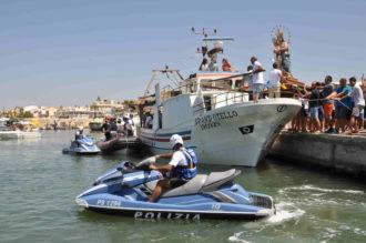 polizia a mare