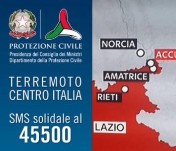 Un SMS di solidarietà per aiutare la popolazione colpita dal terremoto