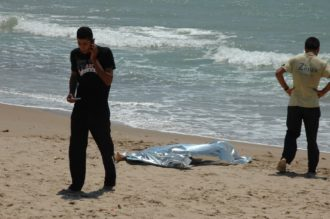 tunisino annegato