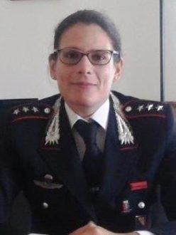 Elisabetta Spoti comandante carabinieri