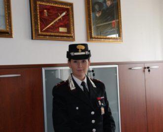 Mariachiara Soldano tenente carabinieri