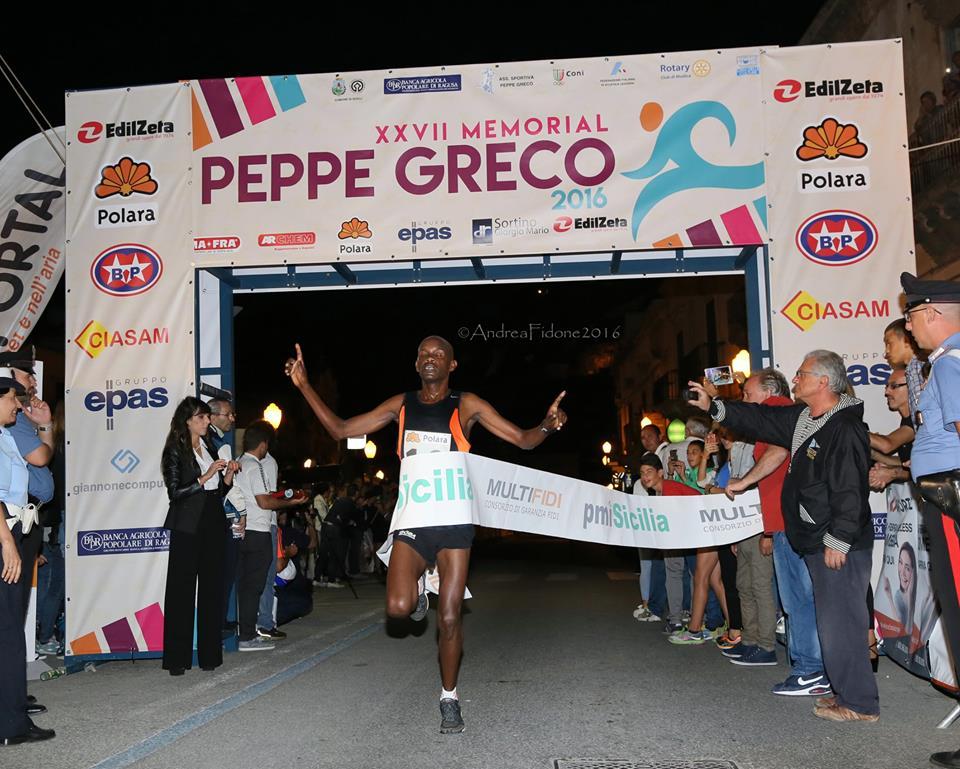 Peppe greco 2016, il vincitore