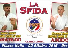 Scicli – La Sfida. Tonino Giannì VS Giovanni Aprile, domenica 2 ottobre, in Piazza Italia