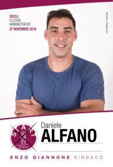 daniele Alfano candidato