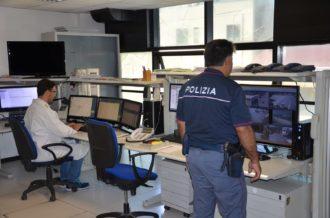 polizia sala operativa