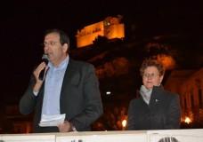 Enzo Giannone con la moglie Costanza